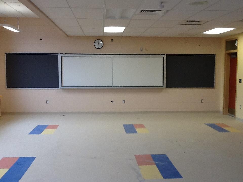 Horizontal Sliding Markerboard - Coeburn Elementary