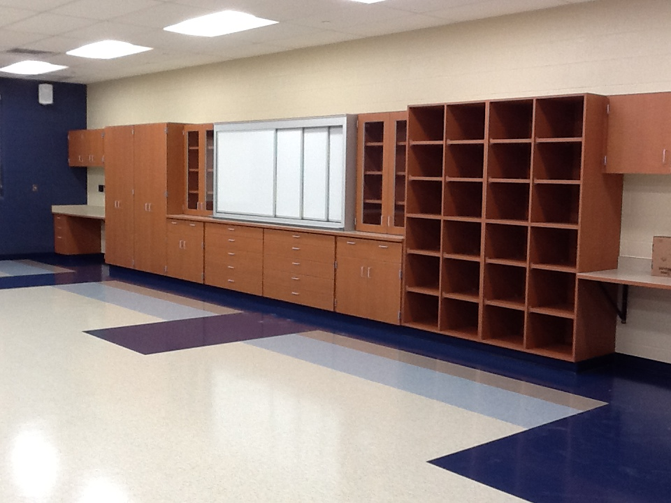 Horizontal Sliding Markerboard - Manheim Central Middle School
