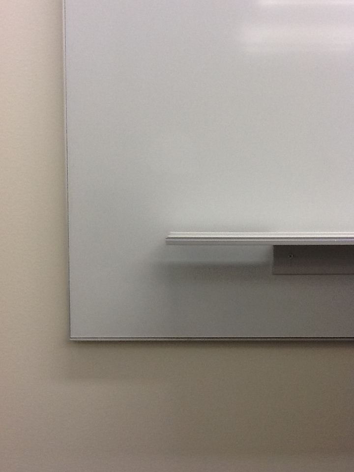Frameless Fixed Markerboard