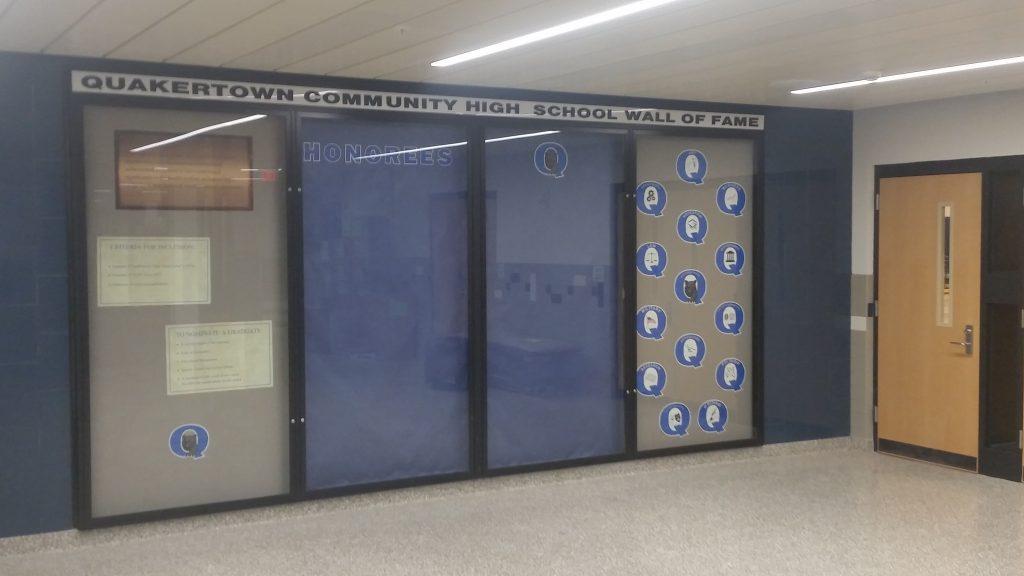 Bulletin Board Case - Quakertown High School